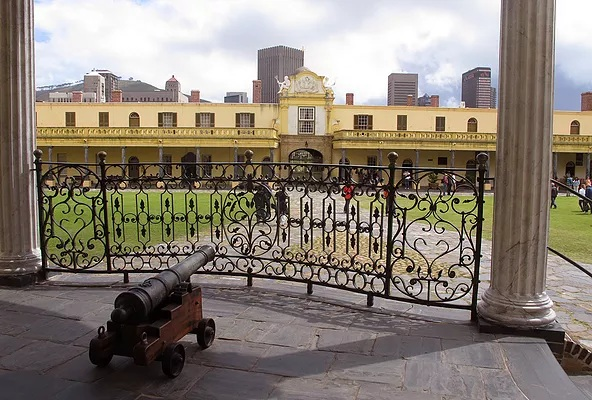 Castle of Good Hope: used to be a five-pointed star fort and the oldest surviving colonial building in South Africa.
