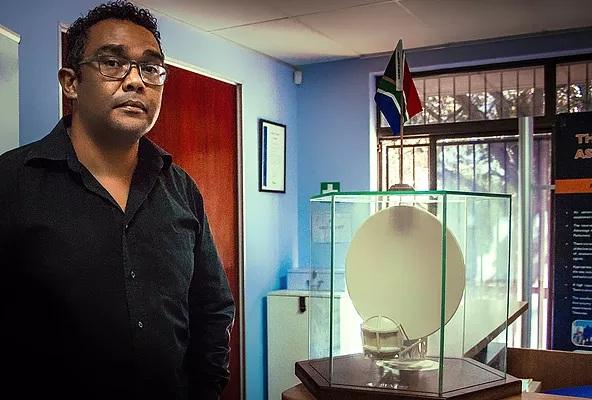Lorenzo Raynard of Square Kilometre Array (SKA) South Africa.