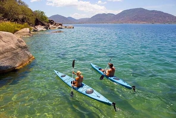 The beautiful lake Malawi.