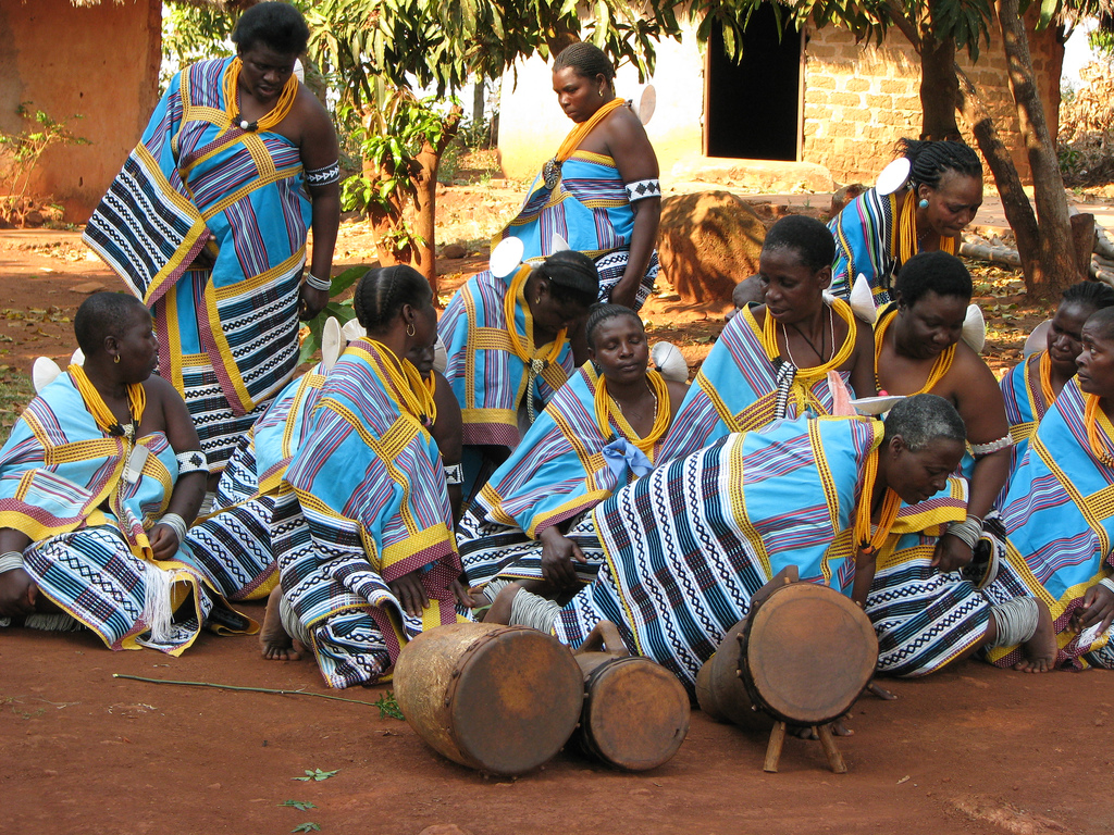 The Domba Traditional Dance Of Magical Venda In South